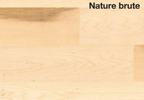 maple solid wood flooring (FSC-certified) NATURE BRUT Les Bois Marien