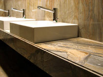 marble counter top washbasin  SEMEA SAS