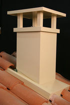 masonry chimney stack  MONIER