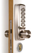 mechanical combination door lock for intensive use KEYLEX 2000 LOKOD