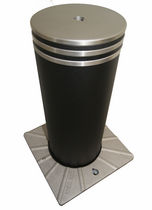 mechanical retractable bollard BORNE LUBERON ESCAMOTABLE MANUELLE AMCO