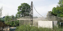 membrane-cable tensile structure (for aviaries) AVIARY ZOO WILHELMA PFEIFER