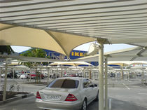 membrane-cable tensile structure (for parking) PTFE Covering Tenso One Design