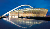 membrane-cable tensile structure (for stadiums) MOSES MABHIDA PFEIFER