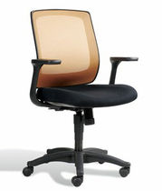 mesh office chair with armrests CAMILLA  Jesper Office