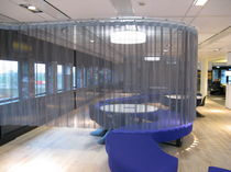 metal curtain MOVEABLE / CURVED KriskaDECOR