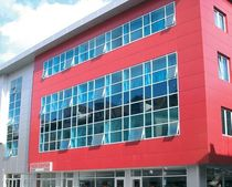 metal facade cladding: aluminium ALUCOBOND FEAL Croatia Ltd.