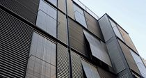 metal facade cladding: corrugated zinc sheet VMZ PROFIL SINUS VMZINC