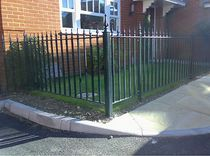 metal garden fence  New Forest Metal Work