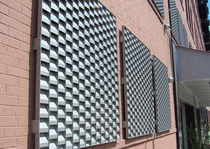 metal grid facade cladding RECTANGULAR GRILLES doralco