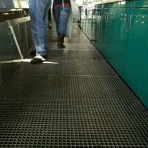 metal grid panel (for floorings)  GRIDIRON