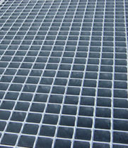 metal grid panel (for floorings) FORGE WELDED ASCO