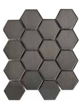 metal mosaic tile EM.0316 NICKEL E Mosaico +