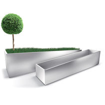 metal planter for public spaces PELIZZARI LAB23