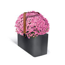 metal planter for public spaces PLANTER BASKET LAB23