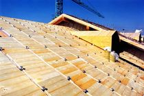 metal roof fixing system HSB HABITAT LEGNO
