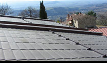 metal roofing system with insulation panel LARES® SKIN MAZZONETTO