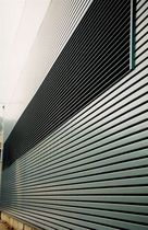 metal strip facade cladding LT-R CLOSED GAP RENFORCED 	 METALSCREEN