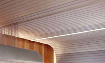 metal strip suspended ceiling PARALINE® USG