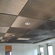 metal suspended ceiling EGLA-TWIN 4243 HAVER & BOECKER