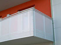 metal wire mesh balustrade IMMOBILIARE GALILEO ALUSCALAE