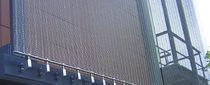 metal wire mesh facade cladding  CR Laurence
