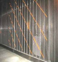 metal wire mesh facade cladding (with integrated LED)  Johnson Screens
