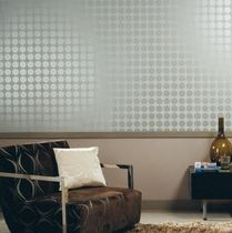 metallic geometric wallpaper ARTISTS CASAMANCE