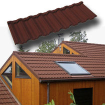 metallic roof tile (stone-coated Zincalume®) Tuile GERARD CLASSIC AHI ROOFING FRANCE