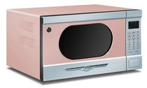 microwave oven FLAMINGO PINK  Elmira Stove Works