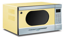 microwave oven BUTTERCUP YELLOW Elmira Stove Works