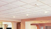 mineral fiber suspended ceiling CASHMERE&reg; STYLE EDGE Certain Teed