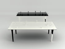 minimalist design coffee table CHI by Junji Kawabe Touchby