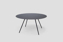 minimalist design round table SURFACE by T.Woodgate &amp; J.Barnard Established and sons