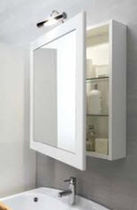 mirrored bathroom wall cabinet UNICO  Geromin