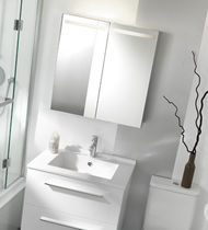 mirrored bathroom wall cabinet  AMBIANCE BAIN