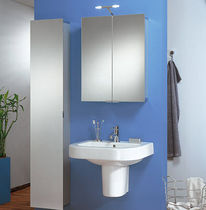 mirrored bathroom wall cabinet ASP 300 HSK