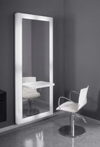 mirror for hairdressers WHITE MIRROR SASSI