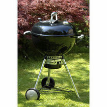 mobile charcoal barbecue ONE-TOUCH PREMIUM Weber EUROPE