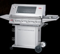 mobile gas barbecue (stainless steel) SIGNATURE PLUS : 19780 BEEF EATER BBQ