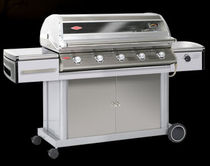 mobile gas barbecue (stainless steel) DISCOVERY PREMIUM 500I : 48450 BEEF EATER BBQ