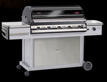 mobile gas barbecue (stainless steel) DISCOVERY 500I : 48250 BEEF EATER BBQ