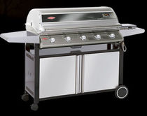 mobile gas barbecue (stainless steel) DISCOVERY PREMIUM PLUS : 48750 BEEF EATER BBQ