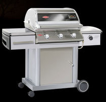 mobile gas barbecue (stainless steel) DISCOVERY PREMIUM 500I : 48430 BEEF EATER BBQ