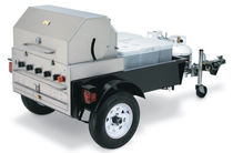 mobile gas barbecue TG-1 Crown Verity