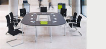 modular boardroom table LET'S TALK F45 Vario