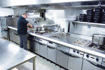 modular commercial kitchen for medium catering needs CELTIC, 800 CAPIC