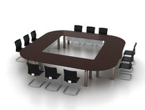 modular conference table P CONF&Eacute;RENCE Steelcase France