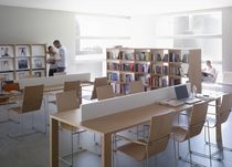modular working table for libraries JAKIN by Abad diseño  Sellex