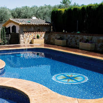 mosaic tile for pool DESIGNS Hisbalit